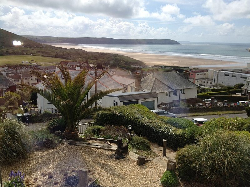 Large Ideal for 2 families sharing, child and dog friendly as away from main rd, Ferienwohnung in Woolacombe