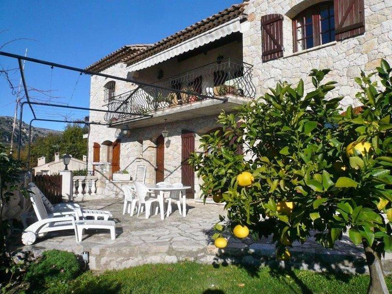 Villa  de caractère a St Jeannet, vacation rental in Saint-Jeannet