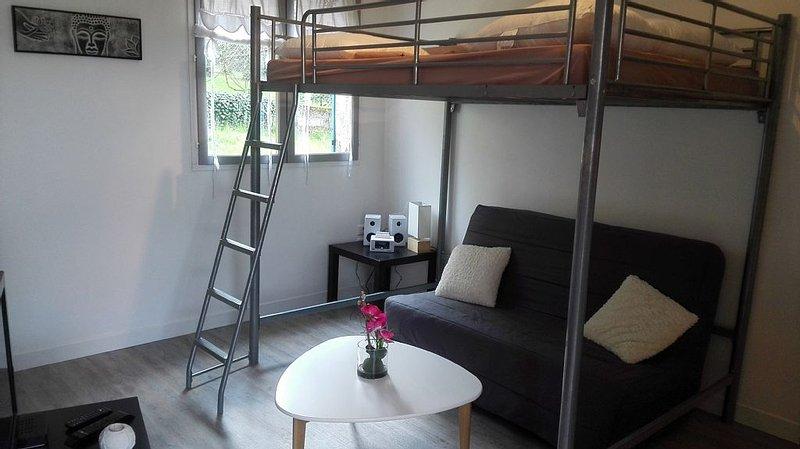 Jolie STUDIO de 30m2 à 13 min du parc DisneyLand Paris, holiday rental in Villiers-sur-Morin
