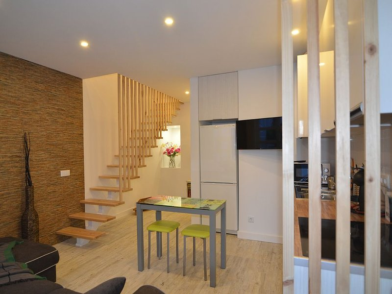 new duplex with bedroom, living room and kitchen, vacation rental in Cajados