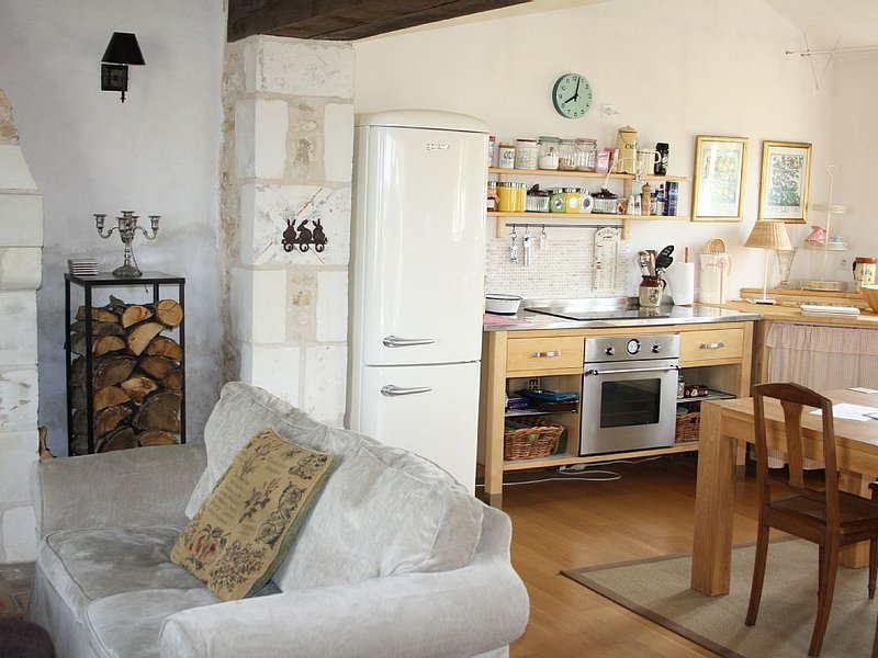 Charming cottage in rural location, holiday rental in Charnizay