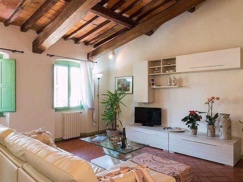 Il glicine, elegante apt centro storico, vacation rental in Pistoia