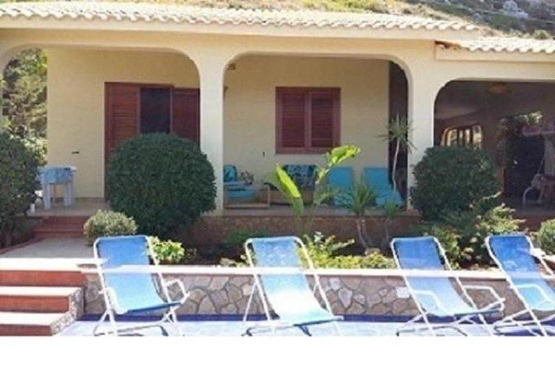 Villa Rosy San Vito Lo Capo, location de vacances à Zarbo di Mare