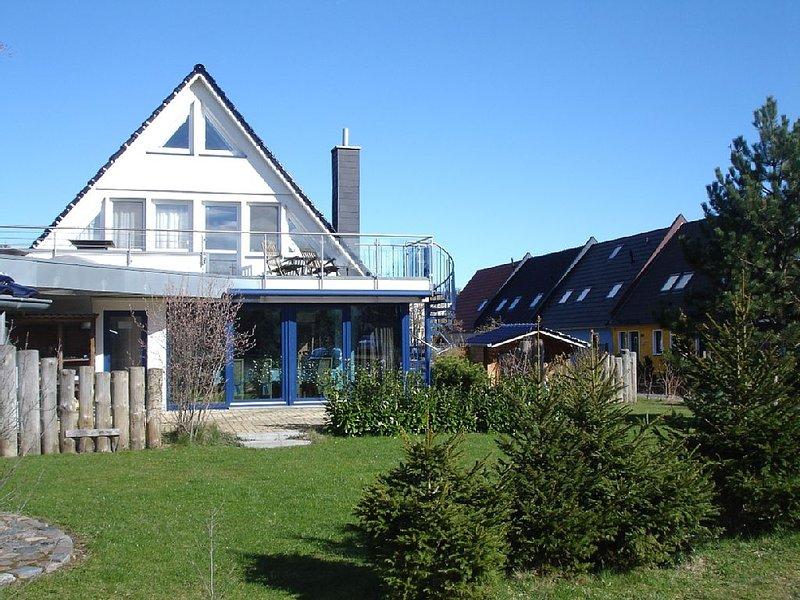 Exklusive Ferienwohnung mit Sauna, Kamin, Terrasse, Garten, casa vacanza a Bresewitz