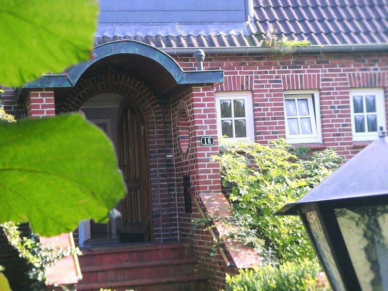 Kapitänshaus am Ostersiel, holiday rental in Pellworm