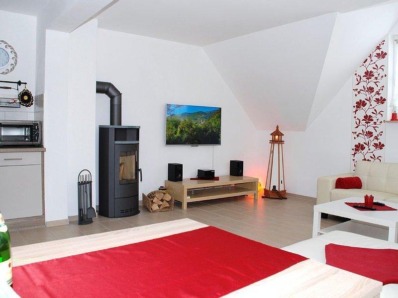 Die traumhaft schöne 2-Raum-FeWo (im 1. OG) ist eine von 4 neuen FeWos, holiday rental in Katschow