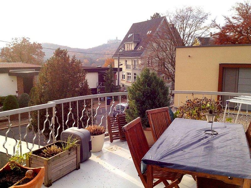 Maisonette Wohnung in Südstadtvilla, aluguéis de temporada em Turíngia