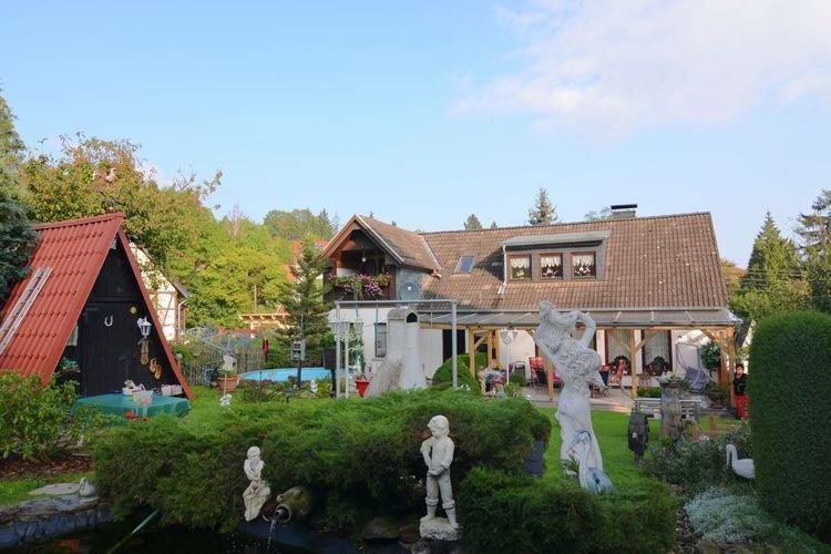 gemütliches Ferienhaus im Grünen, location de vacances à Halberstadt