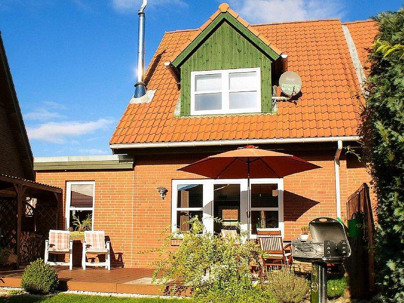 Familienfreundliches Ferienhaus im ländlichen Dänschendorf, location de vacances à Fehmarn