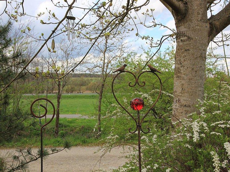 Urlaub wie zuhause - großzügige und schöne Ferienwohnung in Burgebrach, aluguéis de temporada em Franconia