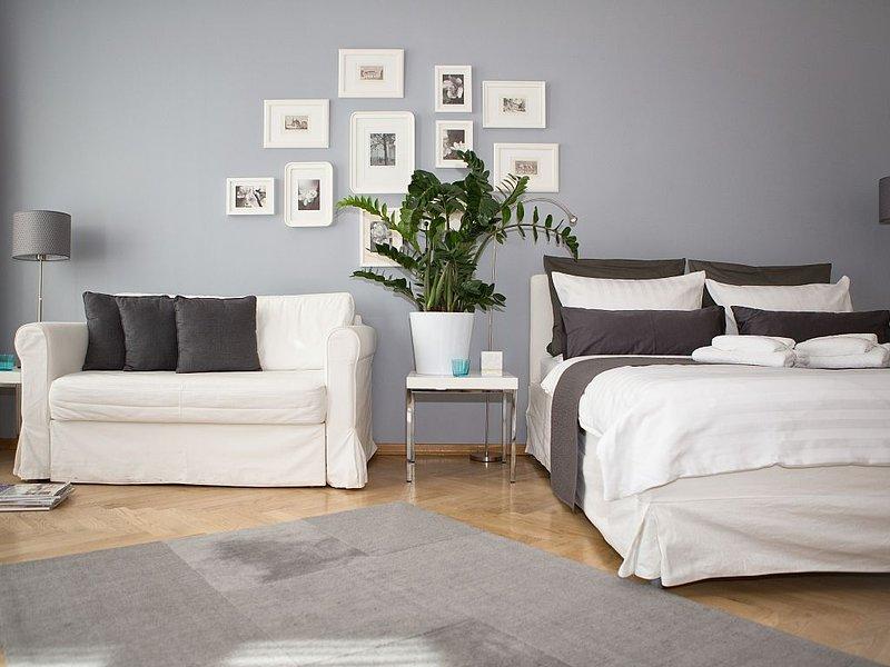 Studio 44 - Apartment RIEMANN 1; Zentrum, Kostenloses WLAN, Fahrräder, holiday rental in Leipzig
