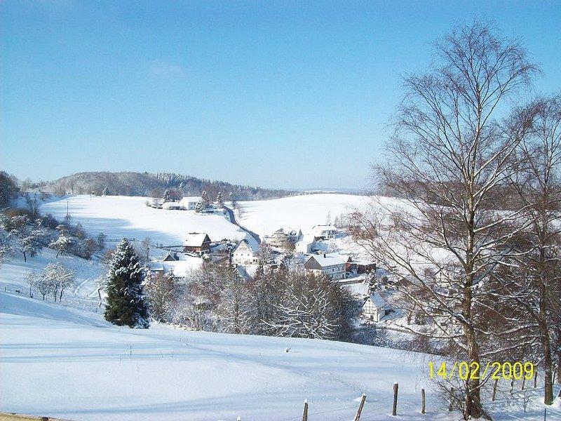 Wohnen mit Weitblick, Ausgangspunkt für Wanderungen und Ausflüge ins Sauerland, aluguéis de temporada em Finnentrop