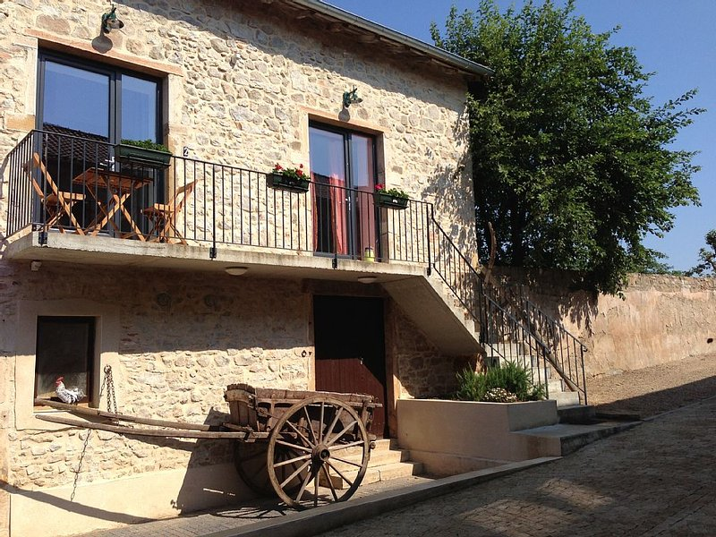 Charmantes Appartement 2 km von Cluny, holiday rental in Sance