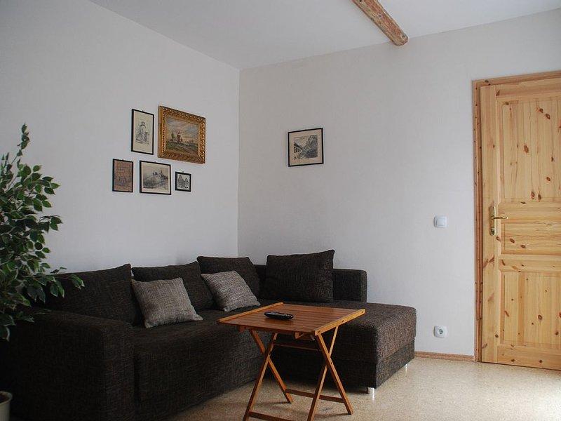 Gemütliche ruhige Ferienwohnung, zentral gelegen, bis 6 Personen, 106 m² – semesterbostad i Straussfurt