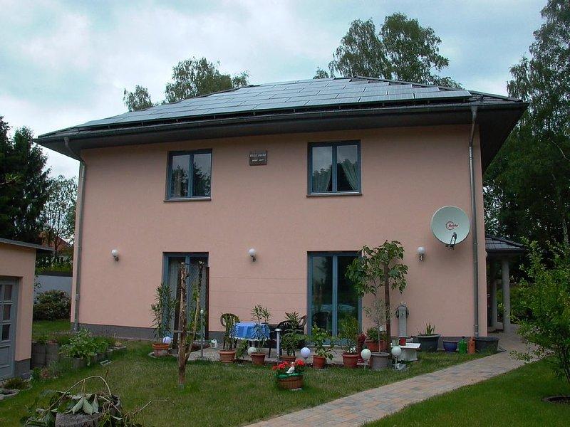 VILLA  ALEXA  Ferienwohnung   -  familienfreundlich und auch mit Haustieren, location de vacances à Markisch Buchholz