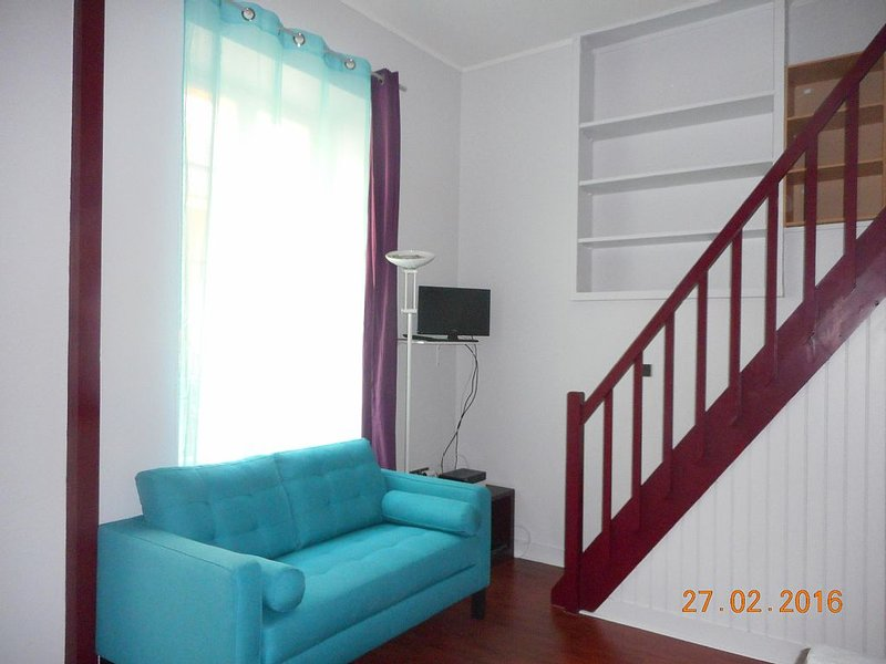 Secure apartment at the foot of the castle, vacation rental in Yvelines