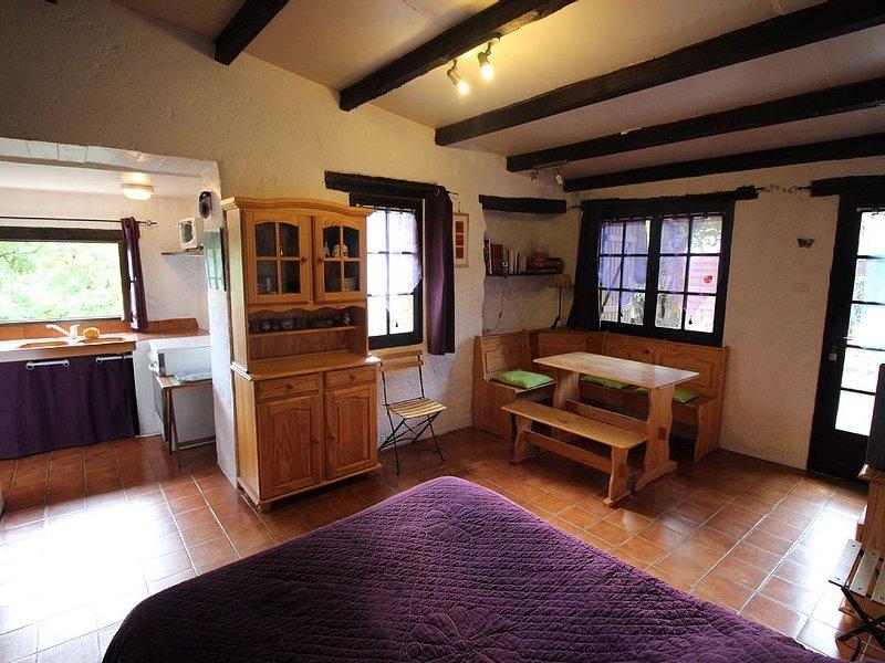 Petit gîte avec WIFI, au milieu de la nature - Pays Cathare et proche châteaux, holiday rental in Cubieres-sur-Cinoble