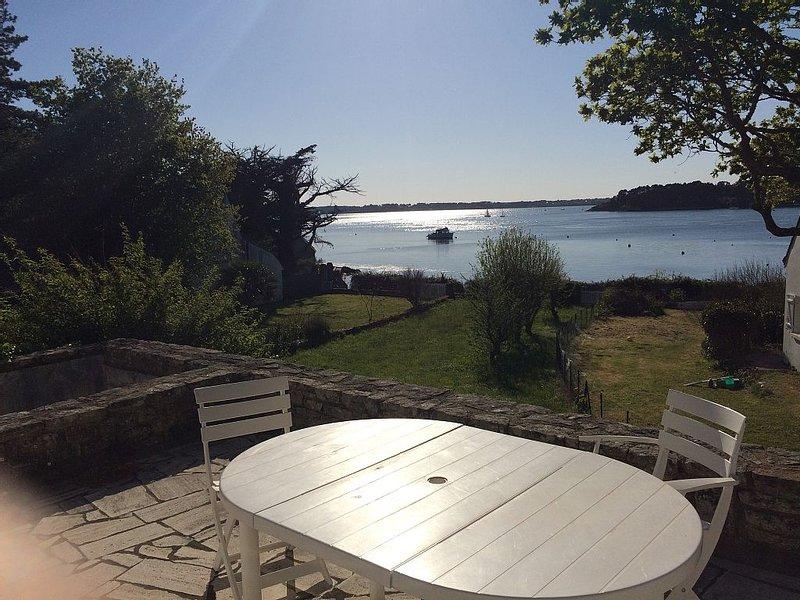 Ile-aux-Moines-Maison au bord du golfe du Morbihan, alquiler de vacaciones en Larmor-Baden