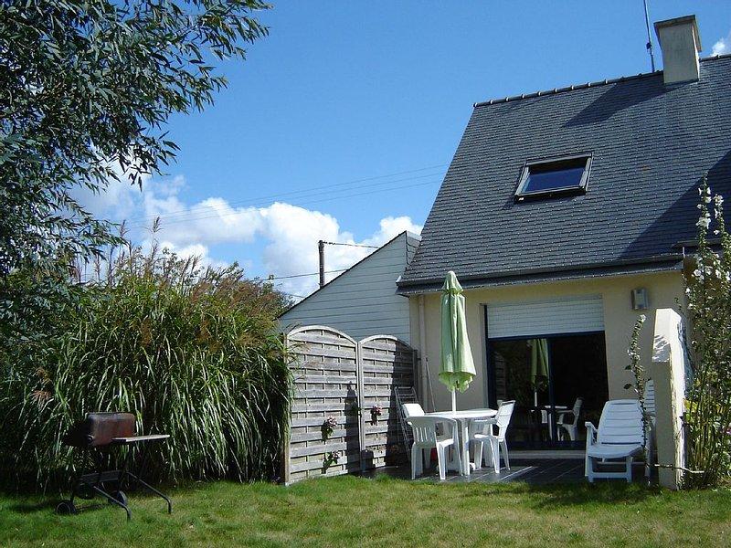 Appartement rez de jardin à La Forêt Fouesnant, casa vacanza a La Foret-Fouesnant