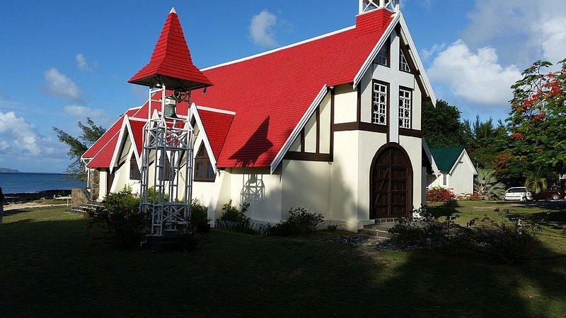 Cap Malheureux Church  10 minutes by bus