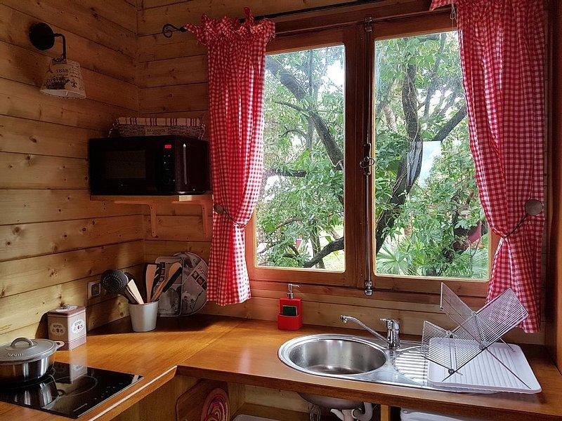 Cabane perchée dans un letchi, location de vacances à Arrondissement de Saint-Denis