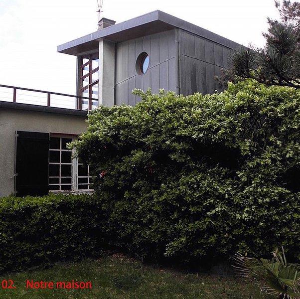 BORD de MER 8P, pr MT ST-MICHEL :  Maison d'archi charme atypique Kairon St Pair, vacation rental in Saint-Pair-sur-Mer