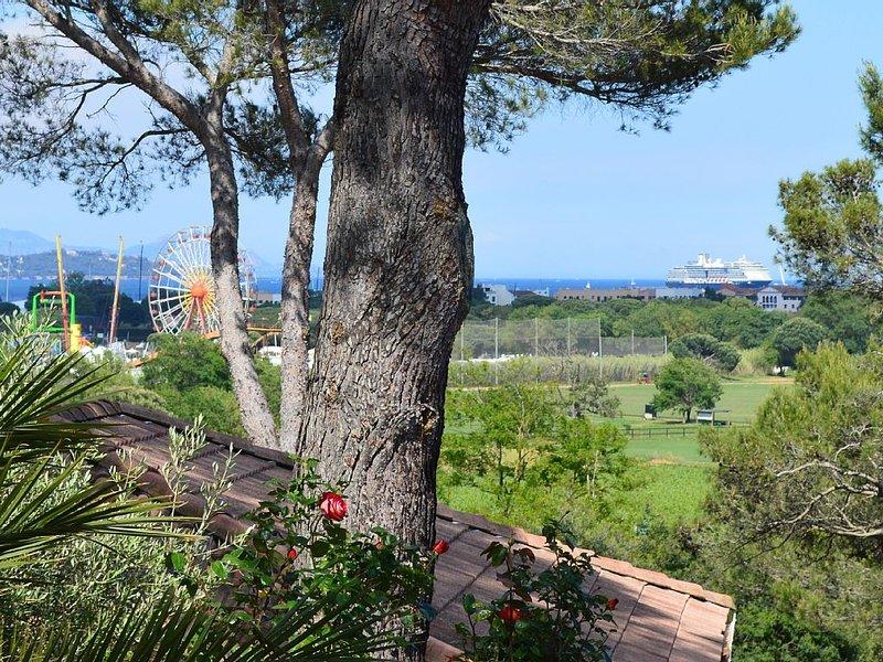 Villa aux portes de Saint-Tropez, location de vacances à Saint-Tropez