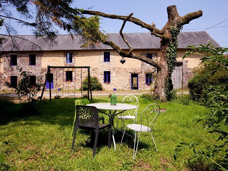 Gite nature entre plage et bocage normand, Mt St Michel, Bayeux et sites D-Day, location de vacances à Moyon