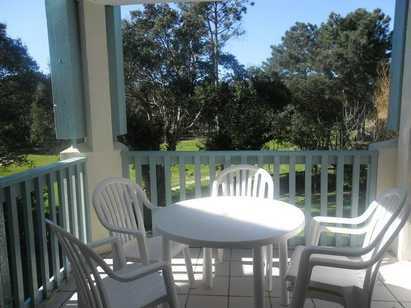 Appartement dans Résidence avec vue sur le Golf, holiday rental in Moliets et Maa