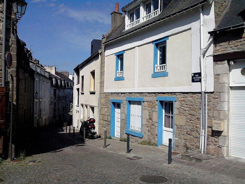 Duplex centre historique de Vannes, holiday rental in Saint-Ave