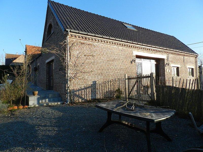 Maison de vacances au coeur des Ardennes Flamandes, de 2 jusqu'à5/6 personnes., Ferienwohnung in Zottegem