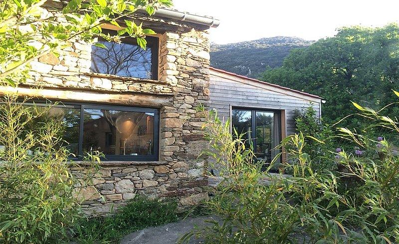 Jolie maison de charme, dans un cadre exceptionnel, avec piscine et studio indép, holiday rental in Vieussan