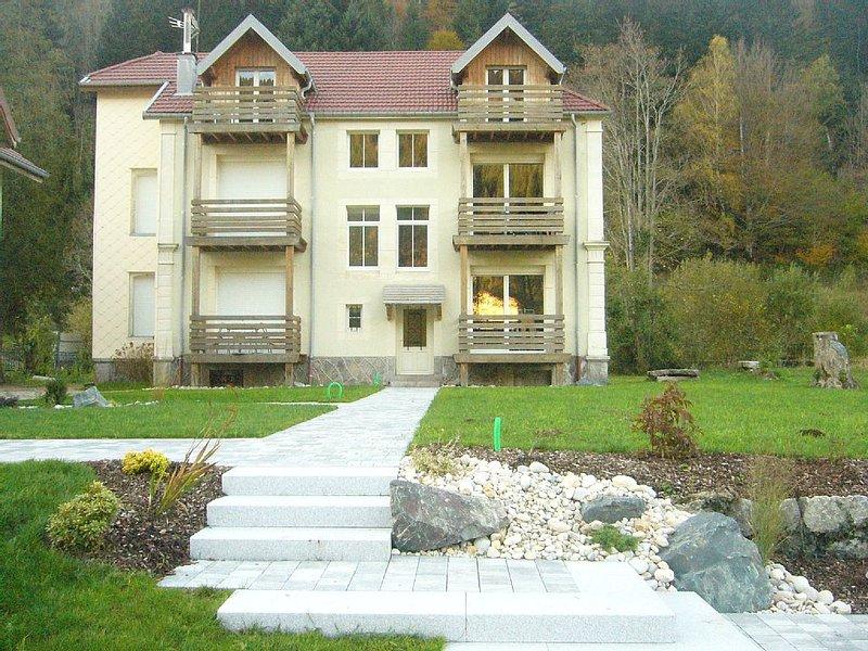 La Bresse, Vosges - 51 m2 BEAUTIFUL APARTMENT ON THE GROUND FLOOR, vacation rental in La Bresse