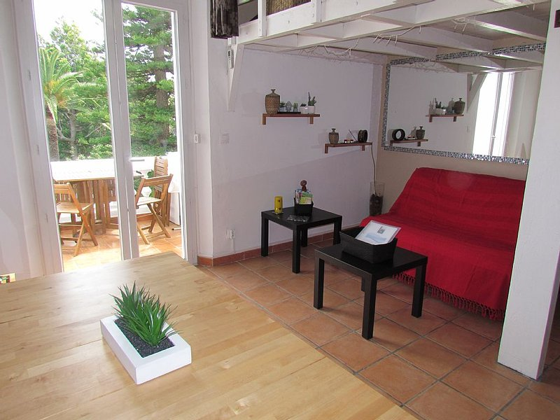 GULF JUAN STUDIO lovely sea views and park, holiday rental in Vallauris