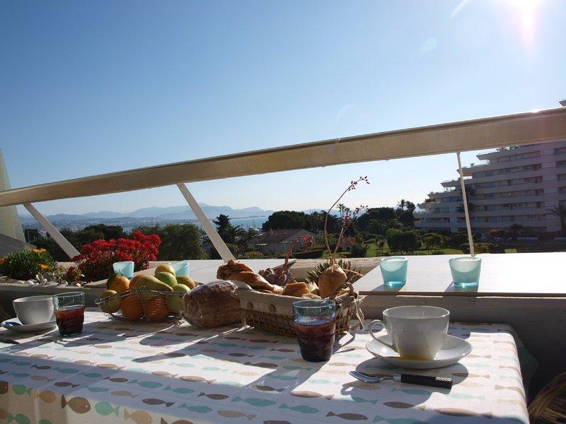 Appartement, côte d'azur, vue mer, accès direct plage, vacation rental in Villeneuve-Loubet