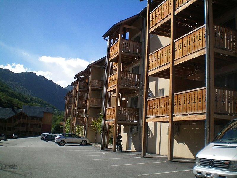 Appartement T3 dans résidence calme, à Ax les Thermes, vacation rental in Ascou