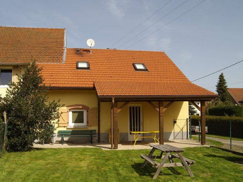 Gîte 90m2 situé dans hameau très calme à l'abri de la circulation., vacation rental in Autrey