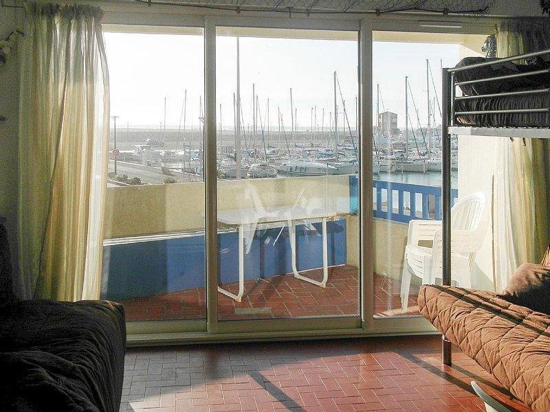 Studio avec terrasse, 4 personnes, vue sur la mer, entièrement équipé, casa vacanza a Le Barcares