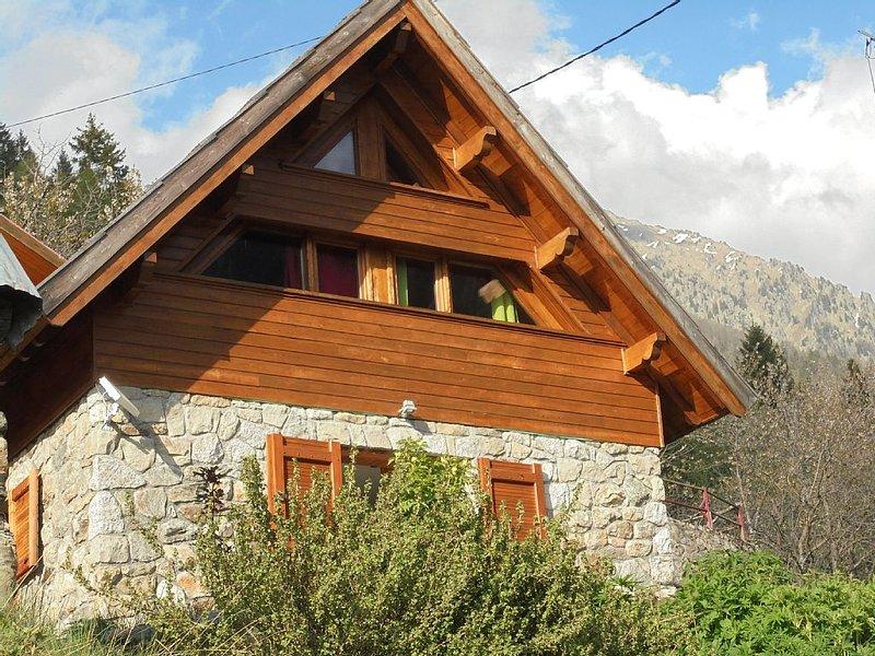 Chalet de montagne au dessus du lac du Boréon, location de vacances à Valdieri