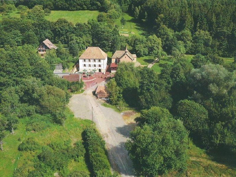 Ballons Vosgiens et route des vins, casa vacanza a Guebwiller