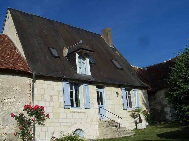 Maison ancienne proximité zoo Beauval et Chateau de Valençay, casa vacanza a Berry
