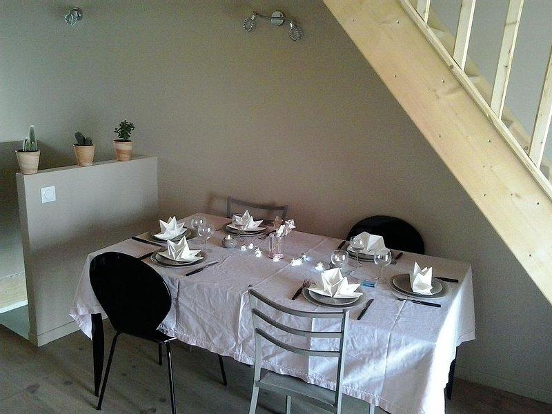 Charmant gîte pour 5 personnes, confortable, chaleureux et très calme., holiday rental in Saint-Felix-Lauragais