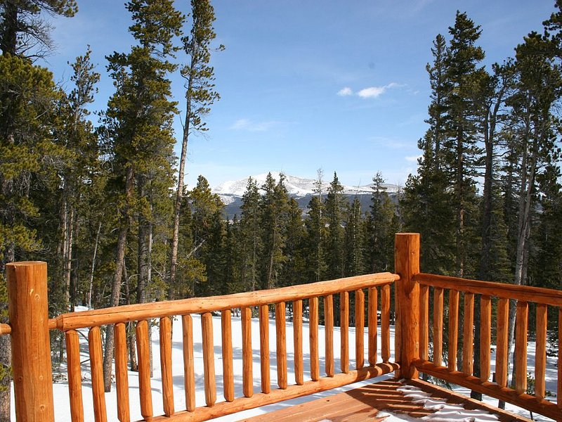 Spectacular Views In Mountain Home Retreat 30 Min From Breckenridge!, holiday rental in Fairplay