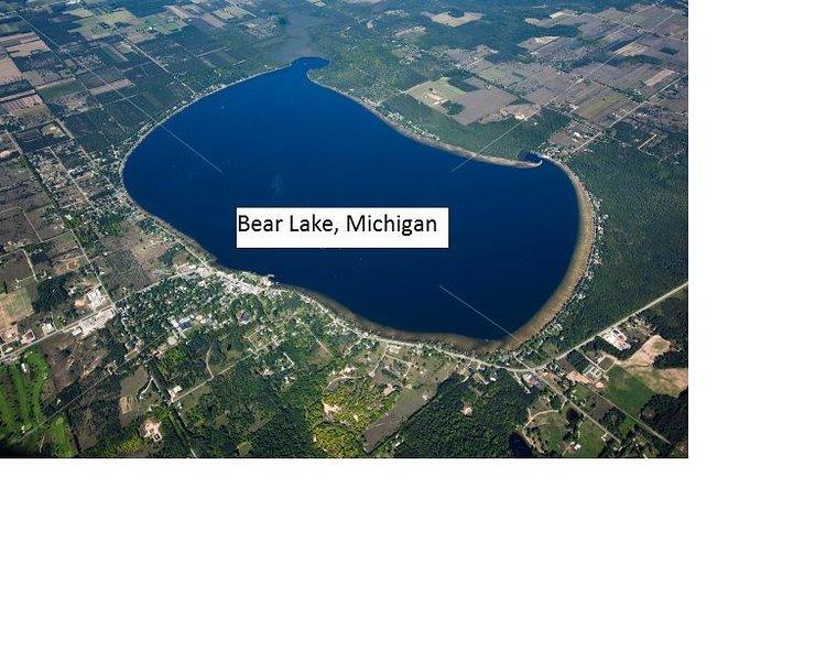 Bear Lake aerial view