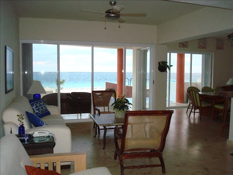 Beach Front Property in Puerto Morelos, holiday rental in Puerto Morelos