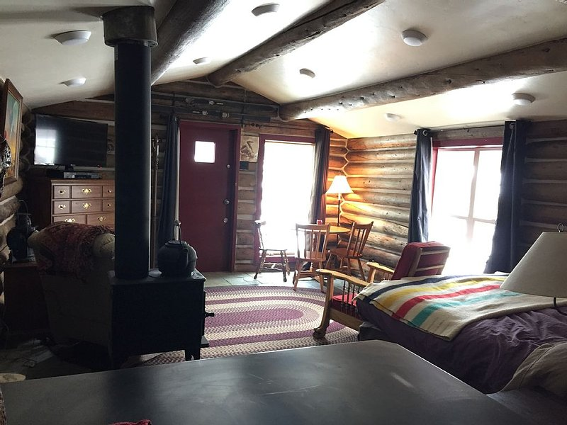 Off The Beaten Path, This Renovated Cabin Showcases The Raw Beauty Of Colorado, holiday rental in Twin Lakes