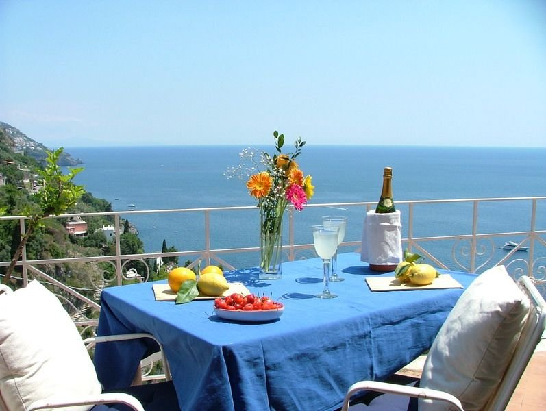 great sea view - great position - not far from the town center – semesterbostad i Positano