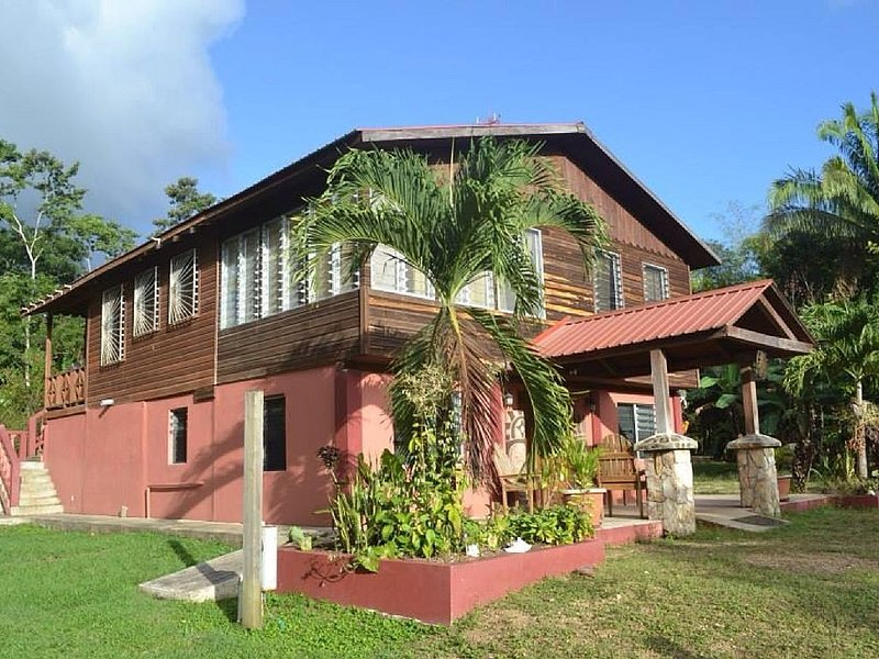 Lush Jungle-Family Friendly, Near ATM Caves & Mayan Ruins & Belmopan City, holiday rental in Cayo
