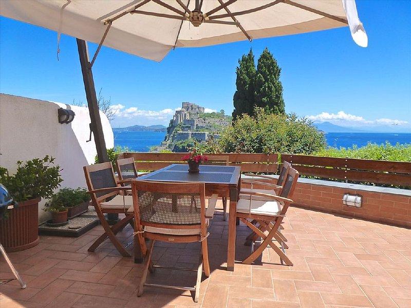 A luxury apartment with a breathtaking sea view, casa vacanza a Isola di Ischia