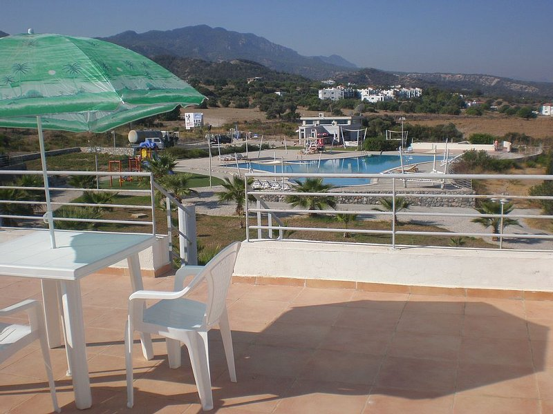 Palm Bay View Is Home To Our Lovely Two- Bedroomed Penthouse Apartment., holiday rental in Bahceli